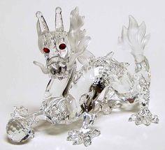 swarovski crystal figurines | Swarovski Crystal Figurine 1997 Dragon 869214 | eBay
