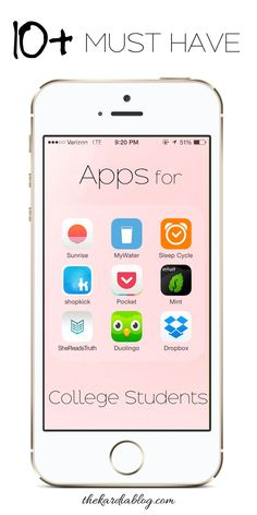 10 Must Have Apps for College Students! Save time by being productive and organized | The Kardia Blog