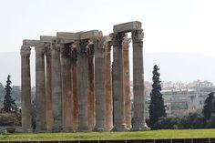 25/12/2013. Ο ναός του Ολυμπίου Διός.