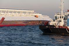 Description Collision of Costa Concordia