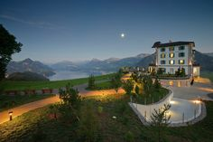 The spa at the Hotel Villa Honegg is one of the most beautiful wellness settings in Switzerland. Marriott Hotels, Hotels And Resorts, Best Hotels, Hilton Hotels, Disney Hotels, Hotel Villa Honegg Switzerland, Lucerne Switzerland, Luxury Hotel Bathroom, Pools