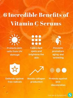6 incredible benefits of Vitamin C serums 6 incredible benefits of Vitamin C serumsYou can find Vitamins and more on our incredible benefits of Vitamin C. Skin Care Regimen, Skin Care Tips, Vitamin C Serum Benefits, Facial Benefits, Polycystic Ovary Syndrome, Wrinkled Skin, Natural Skin Care, Healthy Skin, Body Care
