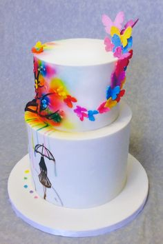 Cake Is Inspired By Mcgreevy Cake Design Cake is inspired by McGreevy Cake Design.
