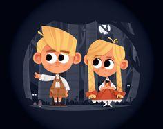 HANSEL AND GRETEL - Rob Kemerink § Find more artworks: www.pinterest.com/aalishev/pins