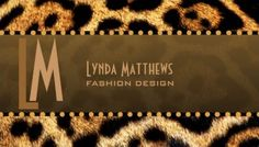 Stylish Brown Leopard Print Monogram Business Cards http://www.zazzle.com/stylish_leopard_print_monogram_business_cards-240490672176107939?rf=238835258815790439&tc=gbcwebpin Tawny brown leopard fur-look business cards for your business. A sassy animal print business card for a fashion designer or for anyone looking to have a wild theme business card to represent their business.