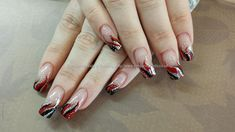 red+black+and+silver+freehand+polish