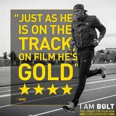 GOLD they say. Usain Bolt, November 2016