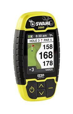 Izzo Golf Swami 5000 Golf GPS Rangefinder.