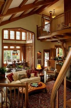 Picture from for sale listing of Andie MacDowell's estate in Asheville, North Carolina.