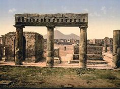 Pompeii Italy...Now this place was amazing..especially being able to see what the Volcano Ash did to the people or moslty the entire city who could not escape the disaster because of the city being benath the Volcano, i cried a bit while here, but god is mysterious..I thank god four our world history!!