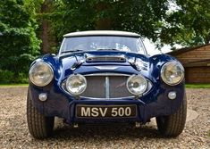 1958 Austin Healey 100/6 Aluminium bodied by Denis Welch Mot For Sale