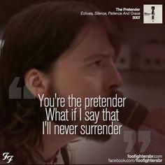 The Pretender-Foo Fighters