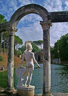Villa Adriana, Tivoli. Roma Italia