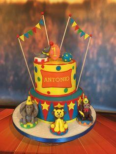 Circus Birthday cake.
