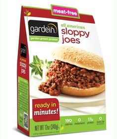 gardein, deliciously meatless foods