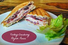 Turkey Cranberry Panini Recipe via momalwaysfindsout.com