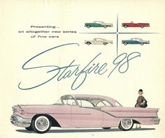 1955 Oldsmobile Starfire 98 Coupe Ad