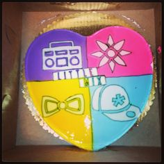 littlemixofficial Check out this amazing cake we just got given at our LA album signing!! :D