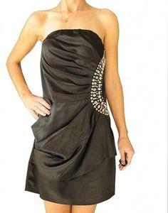 AX PARIS - SZYKOWNA  CZARNA  SUKIENKA - 42 Strapless Dress Formal, Formal Dresses, Paris, Fashion, Dresses For Formal, Moda, Montmartre Paris, Formal Gowns, Fashion Styles