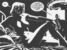 Riding the Goddess: The Women of Frank Miller's Sin City Part 2 Frank Miller Sin City, Frank Miller Art, Comic Book Artists, Comic Books Art, Sin City Comic, Mc Bess, Gravure Photo, Jordi Bernet, Bd Art