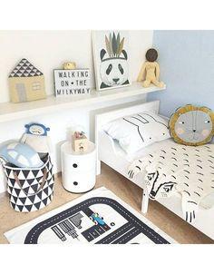 Bedroom Furniture For Kids Baby Bedroom, Baby Boy Rooms, Girls Bedroom, Kids Rooms, Bedroom Black, Kids Room Design, Kid Spaces, Kids Decor, Room Interior