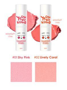 yeondukong x memebox blush sticks