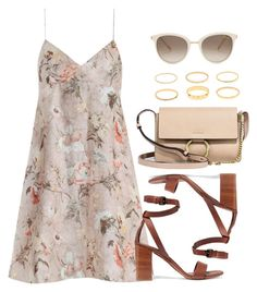 """Sin título #12399"" by vany-alvarado ❤ liked on Polyvore featuring Zimmermann, Vince, Chloé and Chopard"