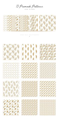 Gold Leaf Design Set - LAUNCH SALE! - This hand drawn clip art set was created with luxury in mind. We created our own high-end gold leaf texture, made in our studio, with actual gold leaf foil. There are endless uses for these lovely leaf and twig elementss. Use the 28 separate elements to create your own arrangements, or for other projects use the 22 bonus design pieces including repeat patterns, wreaths, and swag. By Lilac Paperie. $19 #affiliatelink