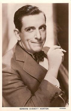 Was edward everett horton gay