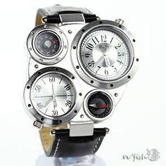 Men Watch Wrist Watch Men Leather Band Wrist Watch by nfishshop 363b326e6992