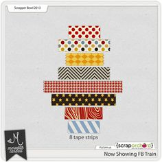Now Showing tape strips freebie from Meredith Cardall