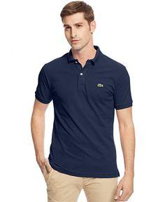 Lacoste Slim-Fit Polo - Polos - Men - Macy's