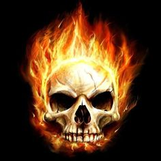 This is my Burnning Skull Wallpaper. The burning skull is made by ROJOdesigns. Retina Wallpaper, Skull Wallpaper, Skull Pictures, Horror Pictures, Best Lunch Bags, Heavy Metal Bands, Kansas City Chiefs, Chiefs Football, Skull And Bones