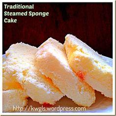 Back To Traditional Recipe of 1egg:1sugar:1flour- Traditional Steamed Sponge Cake (古早味鸡蛋糕) | GUAI SHU SHU