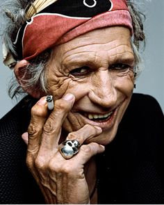 Keith Richards by Francesco Carrozzini, New York, 2008.