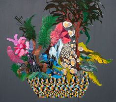 Anne Sofie Melgaard   Tropical Garden Displays inspiration
