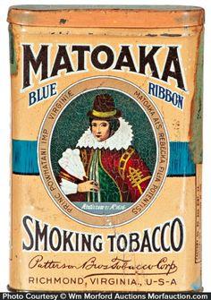Matoaka Smoking Tobacco Tin
