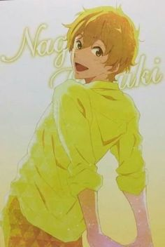 Free! - Iwatobi Swim Club, nagisa hazuki.