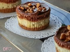 Dulce fresa: Nutella cheesecake cupcakes