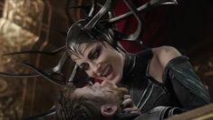 Cate Blanchette as Hela - Thor: Ragnarok, 2017