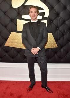 Grammys The Most Stylish Guys on the Grammy Awards Red Carpet Photos Celebrity Red Carpet, Celebrity Style, Grammys 2017, Big Night, Gq, Nice Dresses, Menswear, Style Inspiration, Stylish