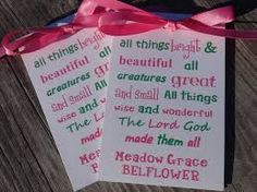 Image result for seed packet communion favors