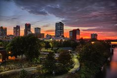 Capture Arkansas Photo Contest - Afterglow by paul barrows