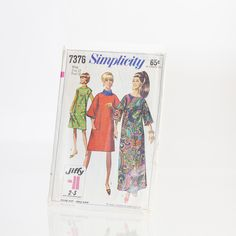 Vintage Simplicity Easy-to-Sew Pattern #7376