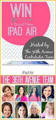 iPad Air Giveaway!