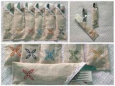 Sobres para servilleta y cubiertos