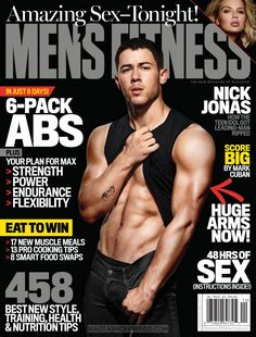 Fashion fanfic an interview with nick jonas abs pinterest nick nick jonas por peter yang para mens fitness magazine altavistaventures Image collections