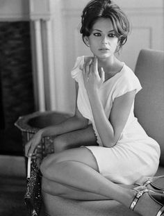 just the classic understated beauty of this image specially in black and white making the dress stand out