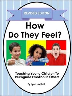 """""""How Do They Feel? Teaching Young Children to Recognize Emotion in Others"""" provides children practice in recognizing and labeling emotions. It is appropriate for students on the autism spectrum, as well as others who exhibit social-emotional and behavioral challenges.$"""