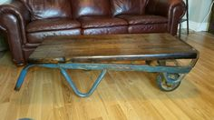 Hey, I found this really awesome Etsy listing at https://www.etsy.com/listing/220668884/coffee-table-antique-industrial-railway